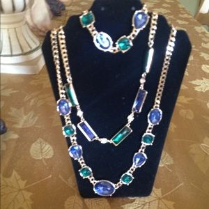 🌺🌺Beautiful Stones Necklace sets💚💙BRAND NEW❤️